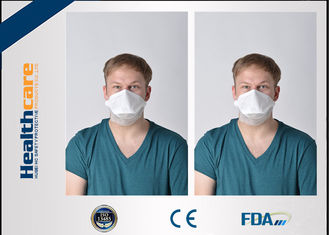3 Ply N95 Disposable Face Mask / Disposable Particulate Respirator Clam Shape